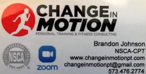 Change in Motion - personal training and fitness